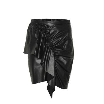 イザベル マラン Isabel Marant レディース スカート ミニスカート【Midway leather miniskirt】black