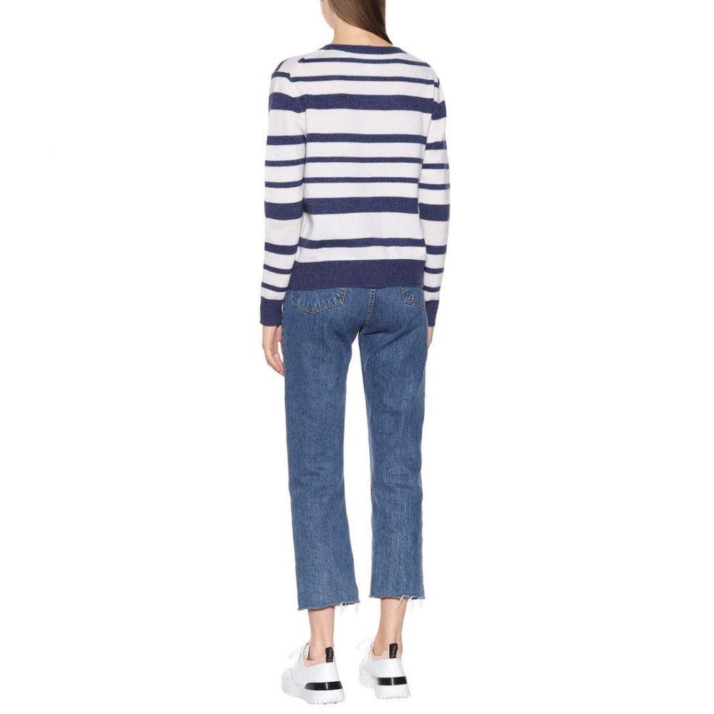 ジャルダンデオランゲール Jardin des Orangers レディース トップス ニット・セーター【Striped cashmere sweater】