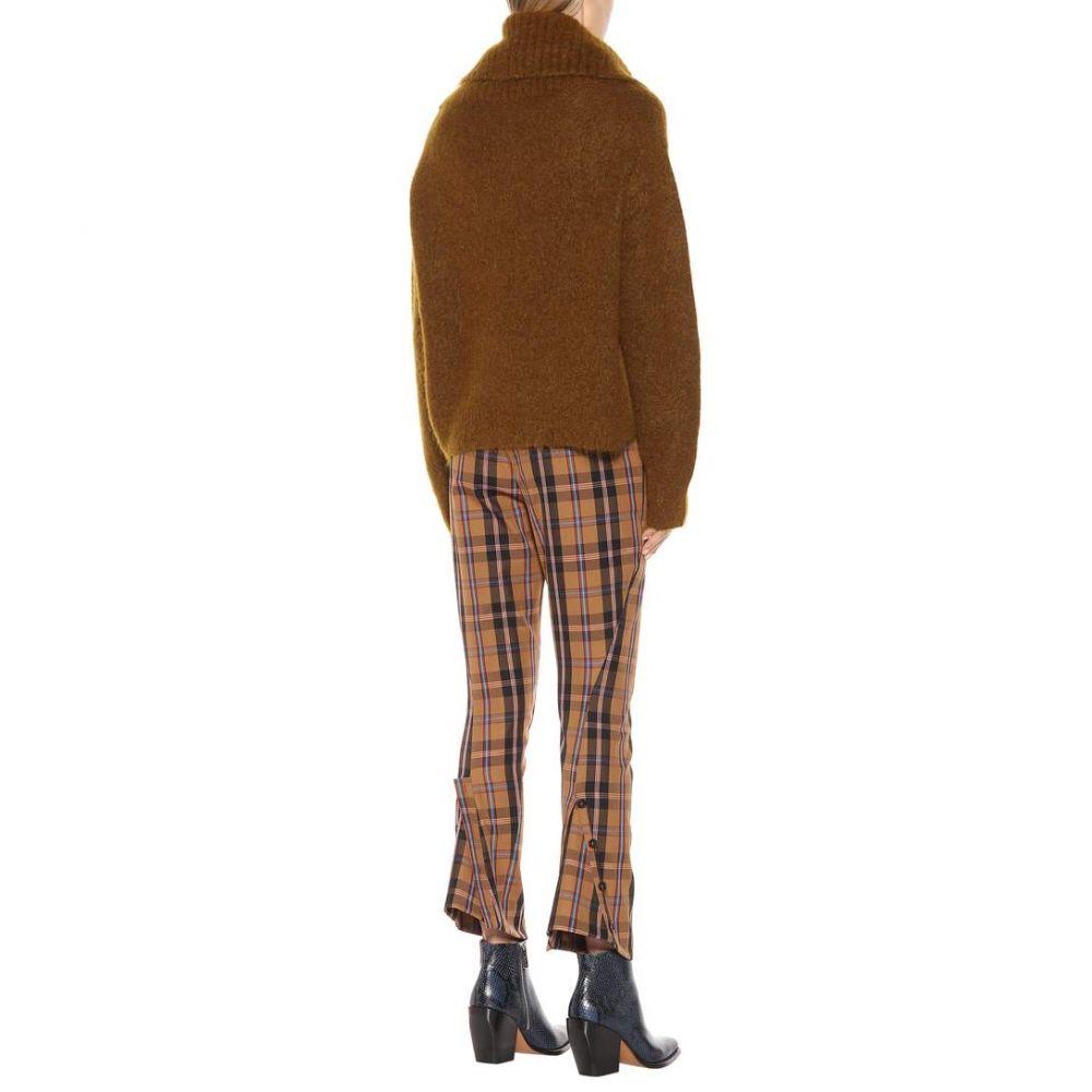 アクネ ストゥディオズ Acne Studios レディース トップス ニット・セーター【Mohair-blend sweater】Cognac Brown