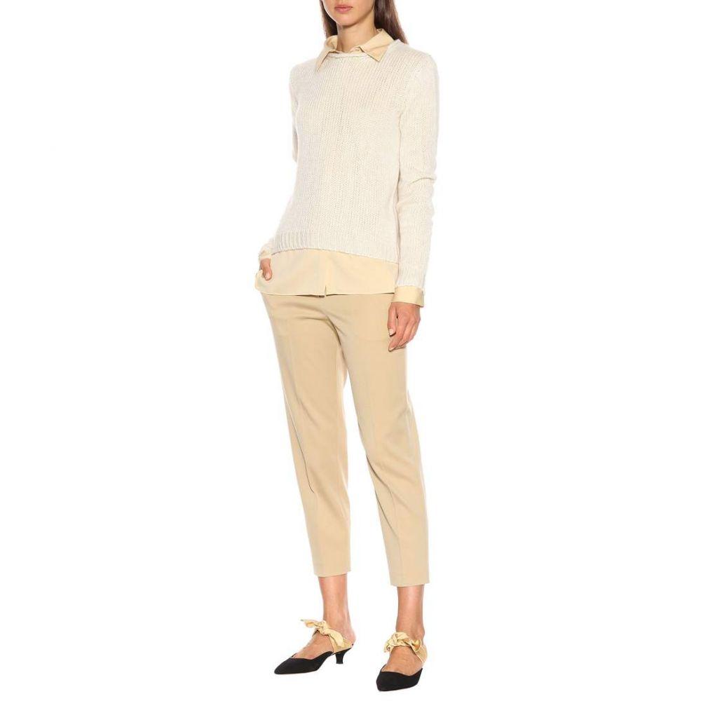 ザ ロウ The Row レディース トップス ニット・セーター【Droi cashmere-blend sweater】Off White