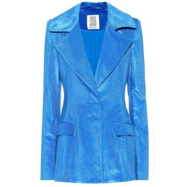 ロージーアスリン Rosie Assoulin レディース アウター スーツ・ジャケット【Lapel corduroy blazer】Lagoon Blue