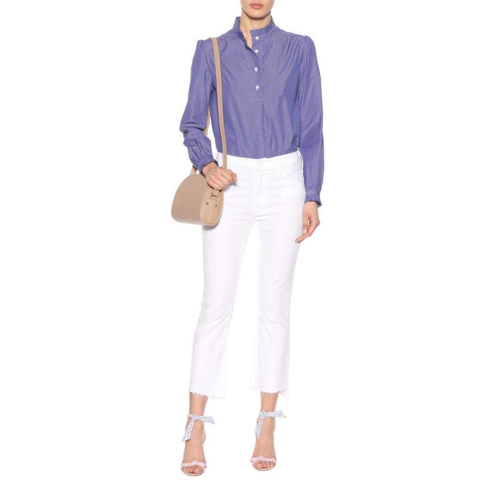 アーペーセー A.P.C. レディース トップス ブラウス・シャツ【Saint-Germain cotton blouse】Bleu Fonce