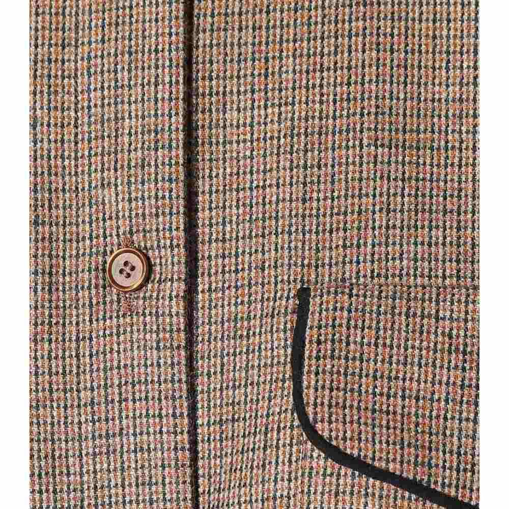 ロシャス Rochas レディース トップス ブラウス・シャツ【Checked wool-blend shirt】Brown
