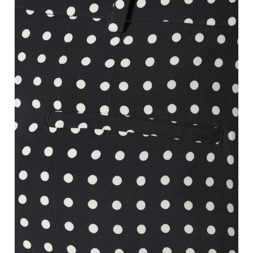 ハイダー アッカーマン Haider Ackermann レディース ボトムス・パンツ クロップド【Polka-dot cropped trousers】Ajoi Black