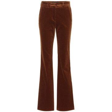 エトロ Etro レディース ボトムス・パンツ スキニー・スリム【Corduroy flared pants】Vintage Brown