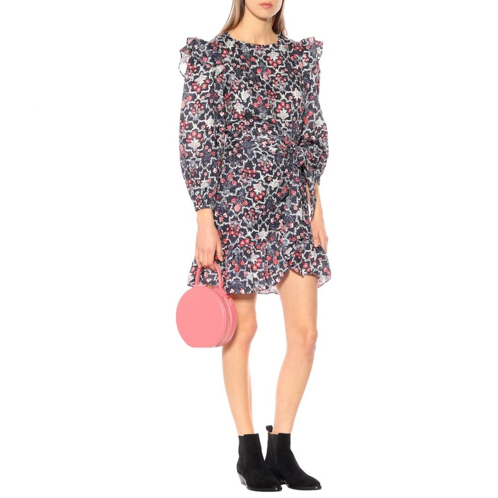 イザベル マラン Isabel Marant, Etoile レディース ワンピース・ドレス ワンピース【Telicia printed linen minidress】Midnight