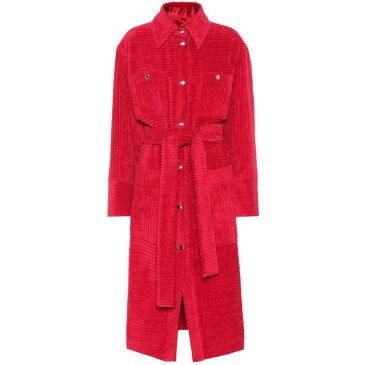 アクネ ストゥディオズ Acne Studios レディース アウター トレンチコート【Corduroy cotton trench coat】Fuchsia Pink
