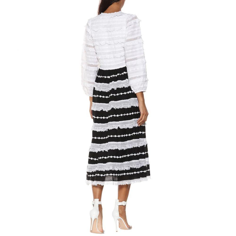 ウラ ジョンソン Ulla Johnson レディース ワンピース・ドレス ワンピース【Charline lace midi dress】Eclipse