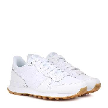 ナイキ Nike レディース シューズ・靴 スニーカー【Internationalist leather sneakers】WHITE/WHITE