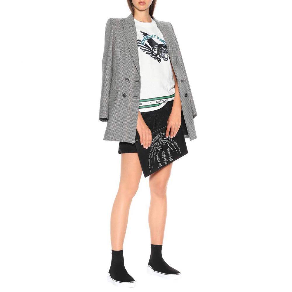 ジバンシー Givenchy レディース シューズ・靴 スニーカー【George V stretch knit sneakers】Black