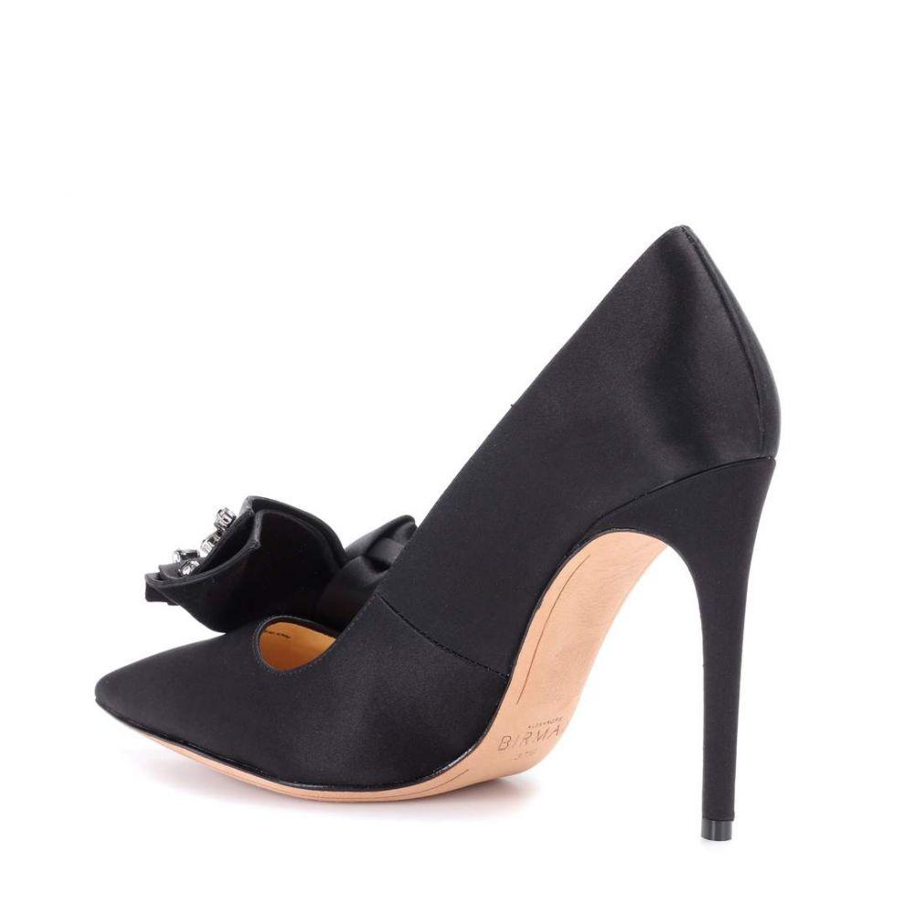アレクサンドレ バーマン Alexandre Birman レディース シューズ・靴 パンプス【Gaya jewelled satin pumps】Black