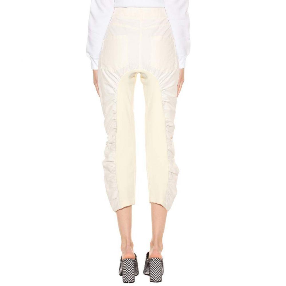 ステラ マッカートニー Stella McCartney レディース ボトムス・パンツ クロップド【Tina cropped trousers】Cream