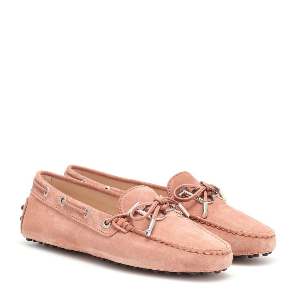 トッズ Tod's レディース シューズ・靴 ローファー・オックスフォード【Gommino logo suede loafers】damasko