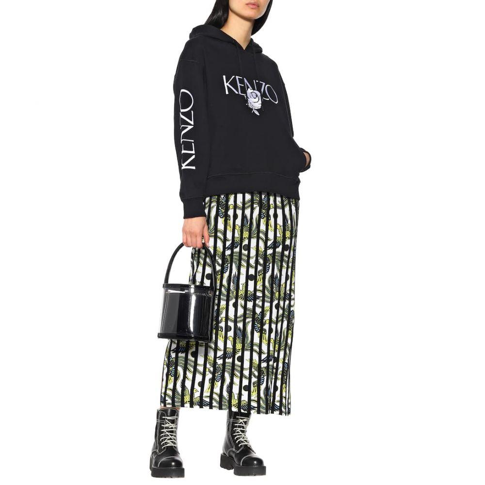 ケンゾー Kenzo レディース スカート ひざ丈スカート【Striped midi skirt】White