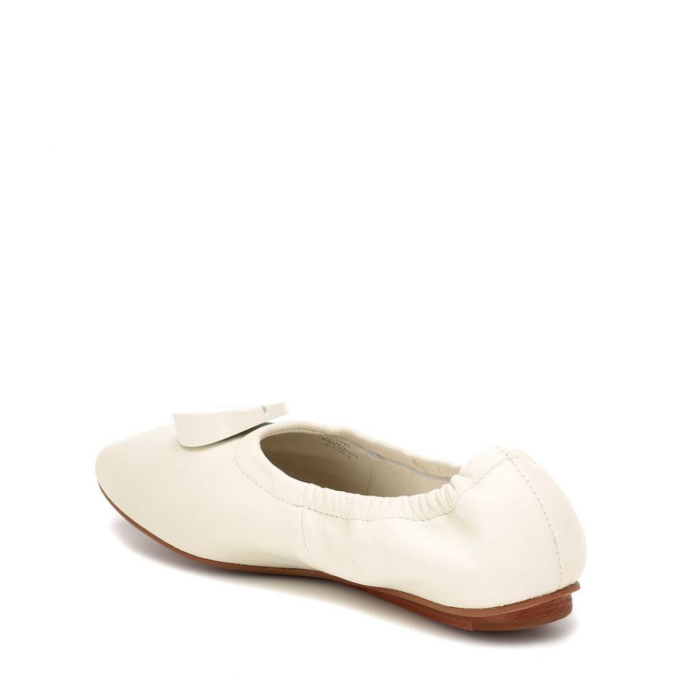 メルセデス カステロ Mercedes Castillo レディース シューズ・靴 スリッポン・フラット【Lena leather ballet flats】white