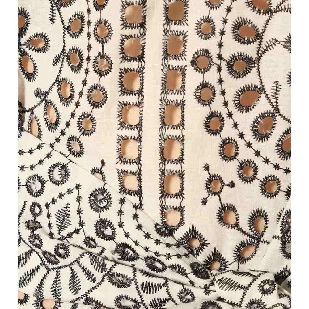 リサ マリー フェルナンデス Lisa Marie Fernandez レディース ワンピース・ドレス ワンピース【Arden embroidered cotton maxi dress】Black eyelet