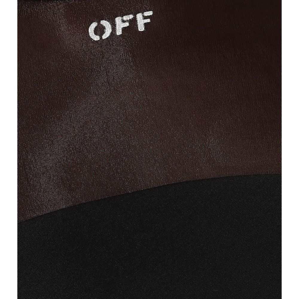 オフ-ホワイト Off-White レディース ワンピース・ドレス ワンピース【Stretch jersey dress】Black