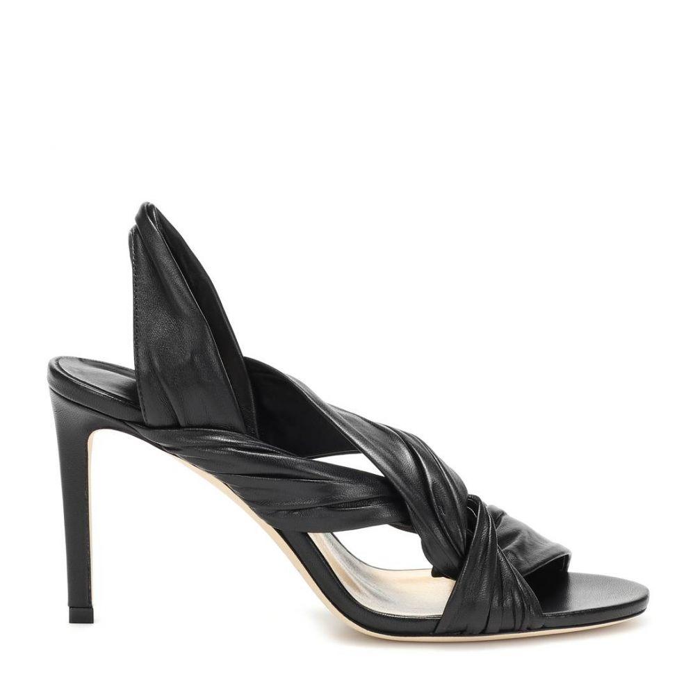 ジミー チュウ Jimmy Choo レディース シューズ・靴 サンダル・ミュール【Lalia 85 leather sandals】Black