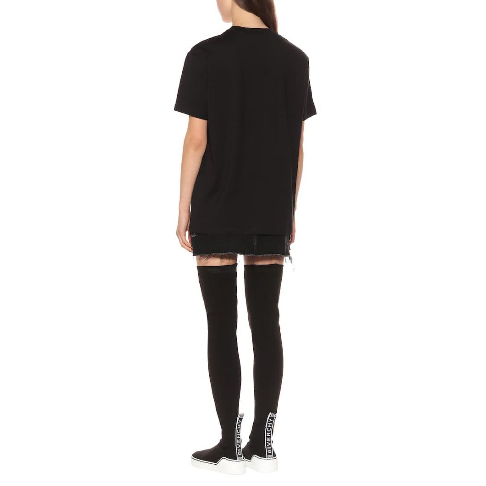 ジバンシー Givenchy レディース トップス Tシャツ【Printed cotton T-shirt】