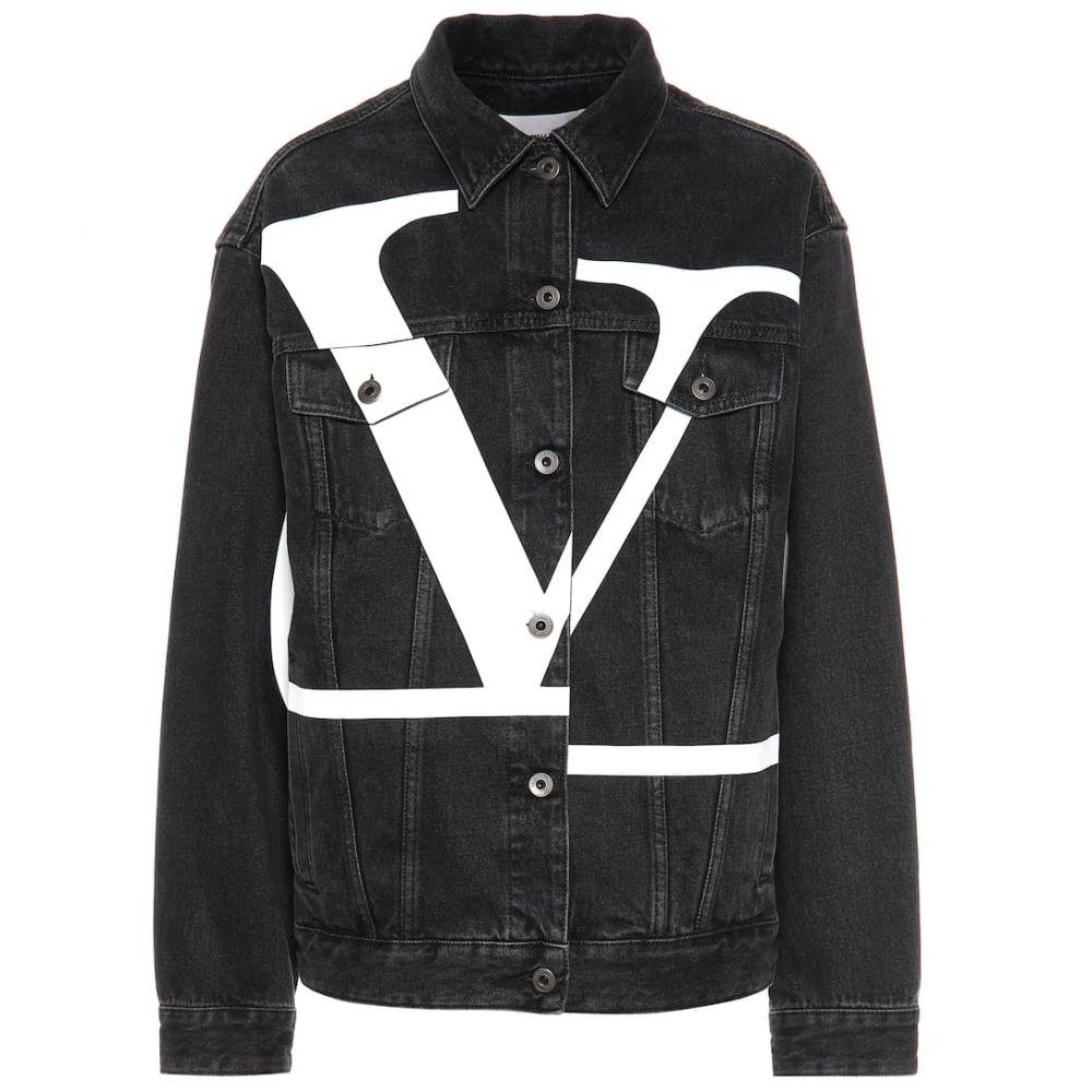 ヴァレンティノ Valentino レディース アウター ジャケット【Printed denim jacket】