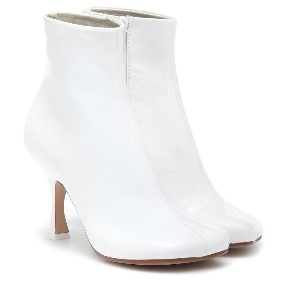 メゾン マルジェラ MM6 Maison Margiela レディース シューズ・靴 ブーツ【Patent leather ankle boots】
