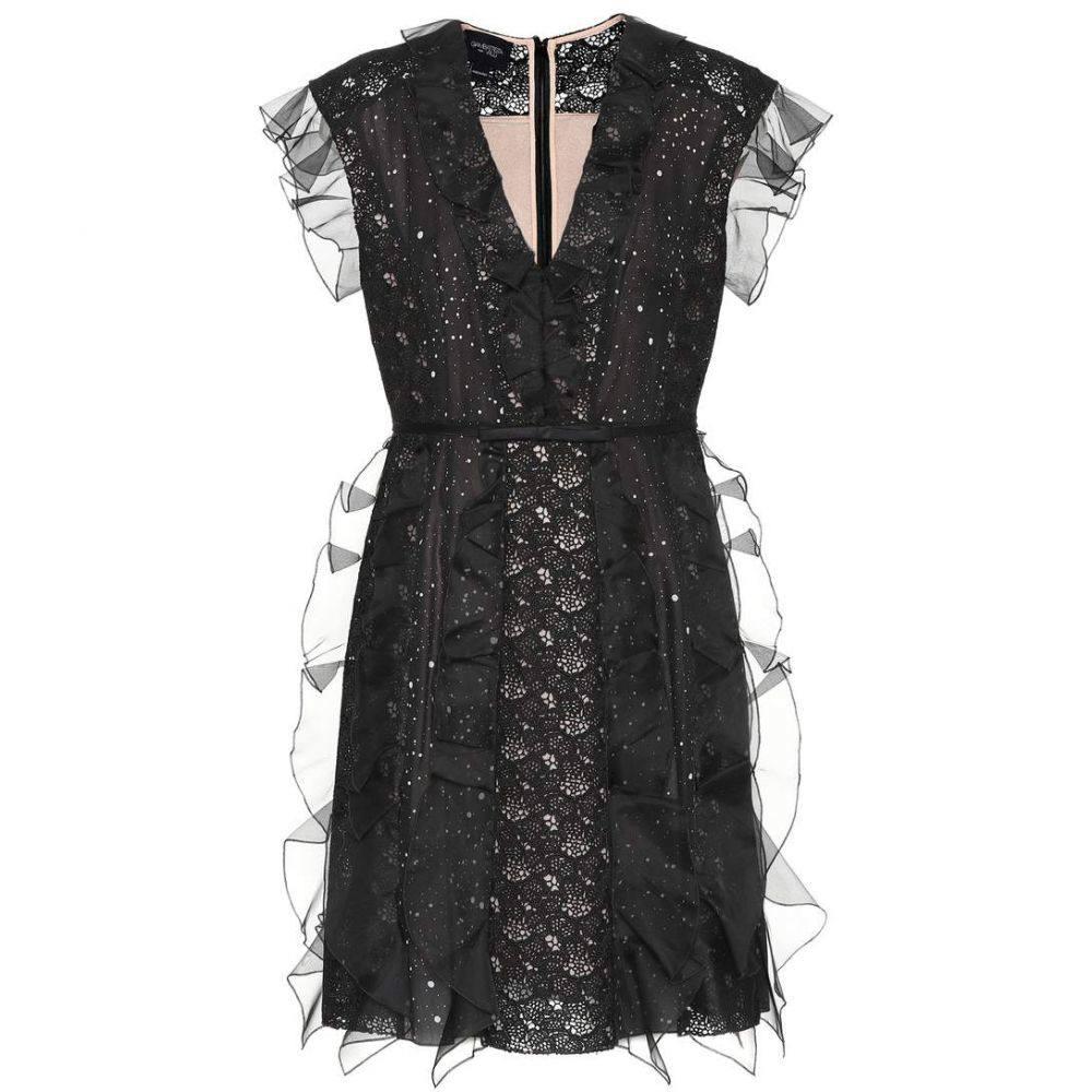ジャンバティスタ バリ Giambattista Valli レディース ワンピース・ドレス ワンピース【Silk and lace minidress】