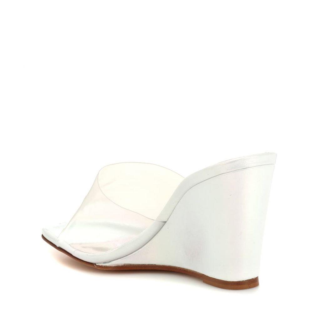 マリアム ナッシアー ザデー Maryam Nassir Zadeh レディース シューズ・靴 サンダル・ミュール【Paradise leather wedge sandals】opal