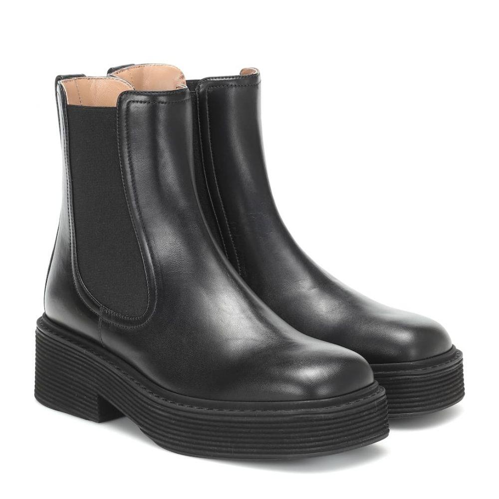 マルニ Marni レディース シューズ・靴 ブーツ【Leather Chelsea boots】