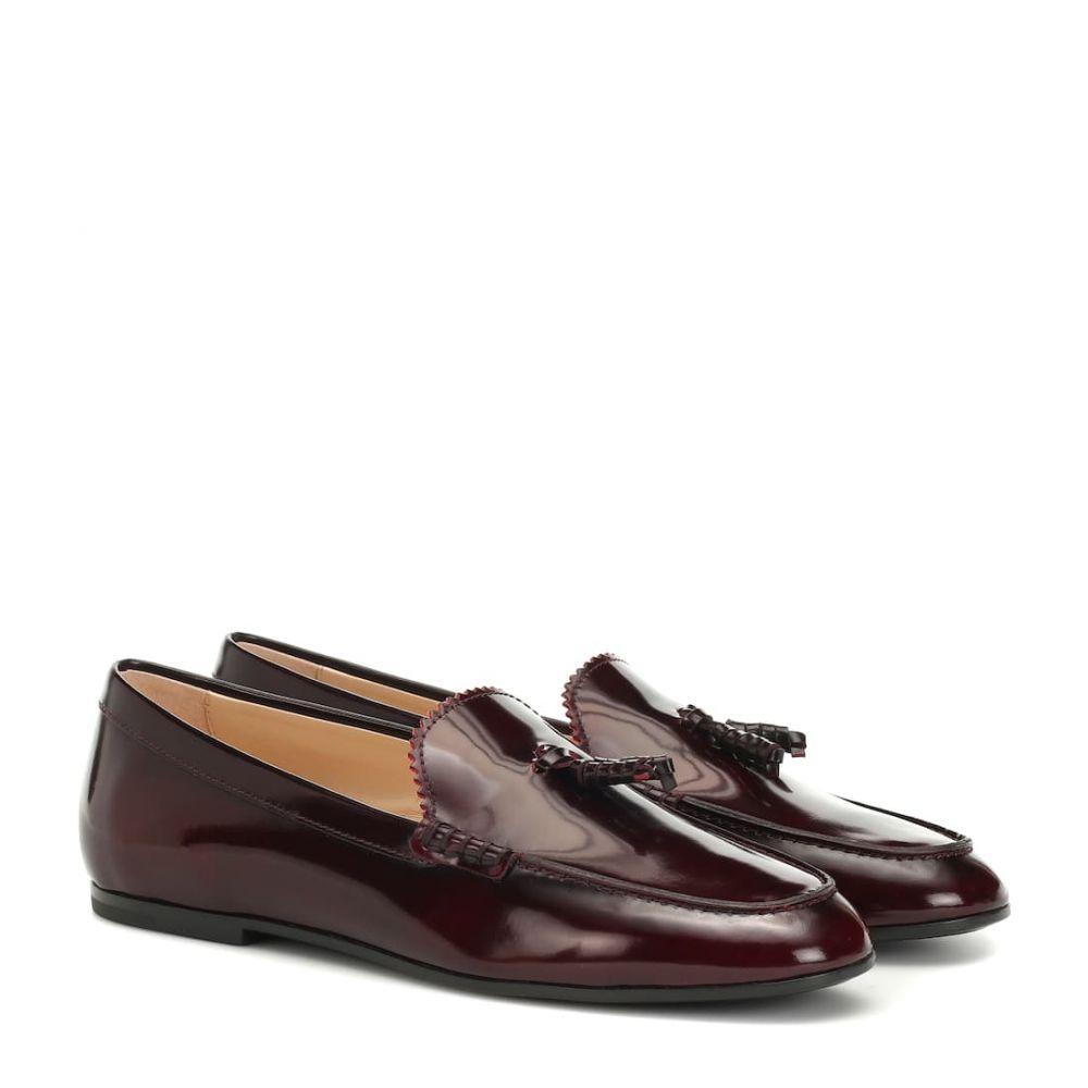 トッズ Tod's レディース シューズ・靴 ローファー・オックスフォード【Leather loafers】mosto