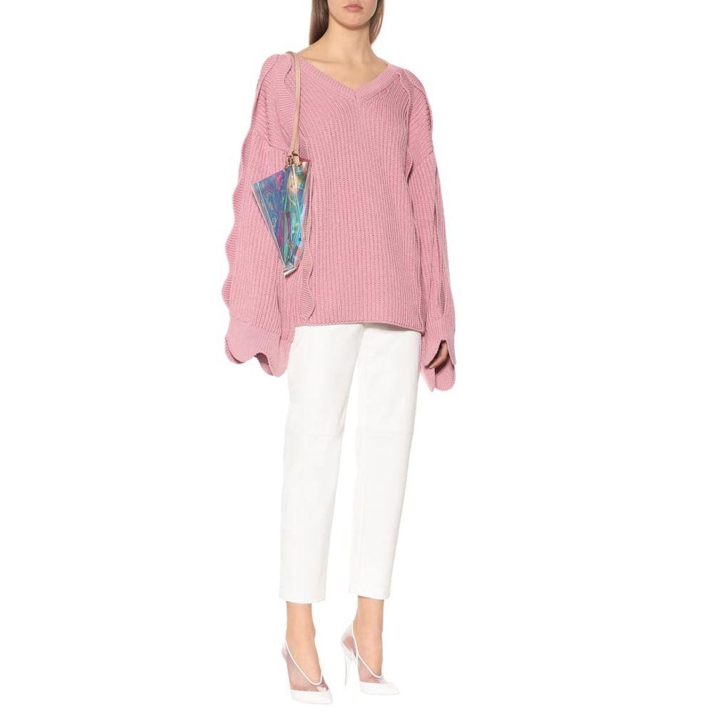 ステラ マッカートニー Stella McCartney レディース トップス ニット・セーター【Oversized cotton and wool sweater】pink tulo