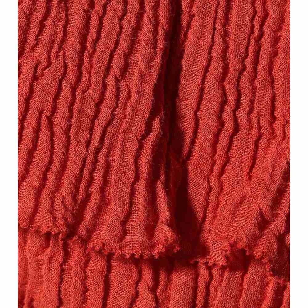 ジマーマン Zimmermann レディース トップス ベアトップ・チューブトップ・クロップド【Veneto cotton-blend crop top】Clay
