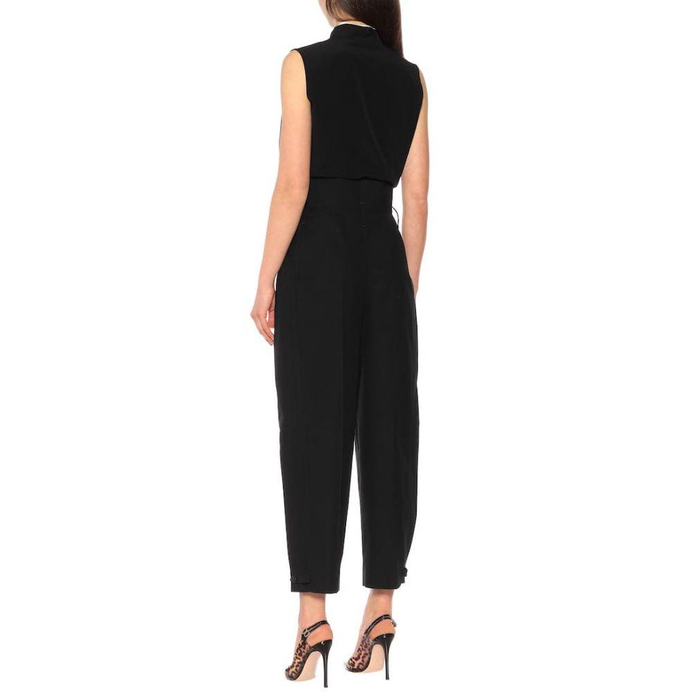 ジバンシー Givenchy レディース ボトムス・パンツ クロップド【Cotton high-rise pants】Black