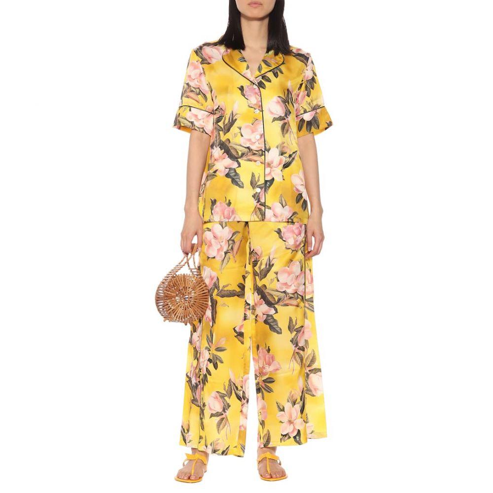 フォーレストレススリーパーズ F.R.S For Restless Sleepers レディース ボトムス・パンツ【Apate satin pajama pants】F.Do Giallo