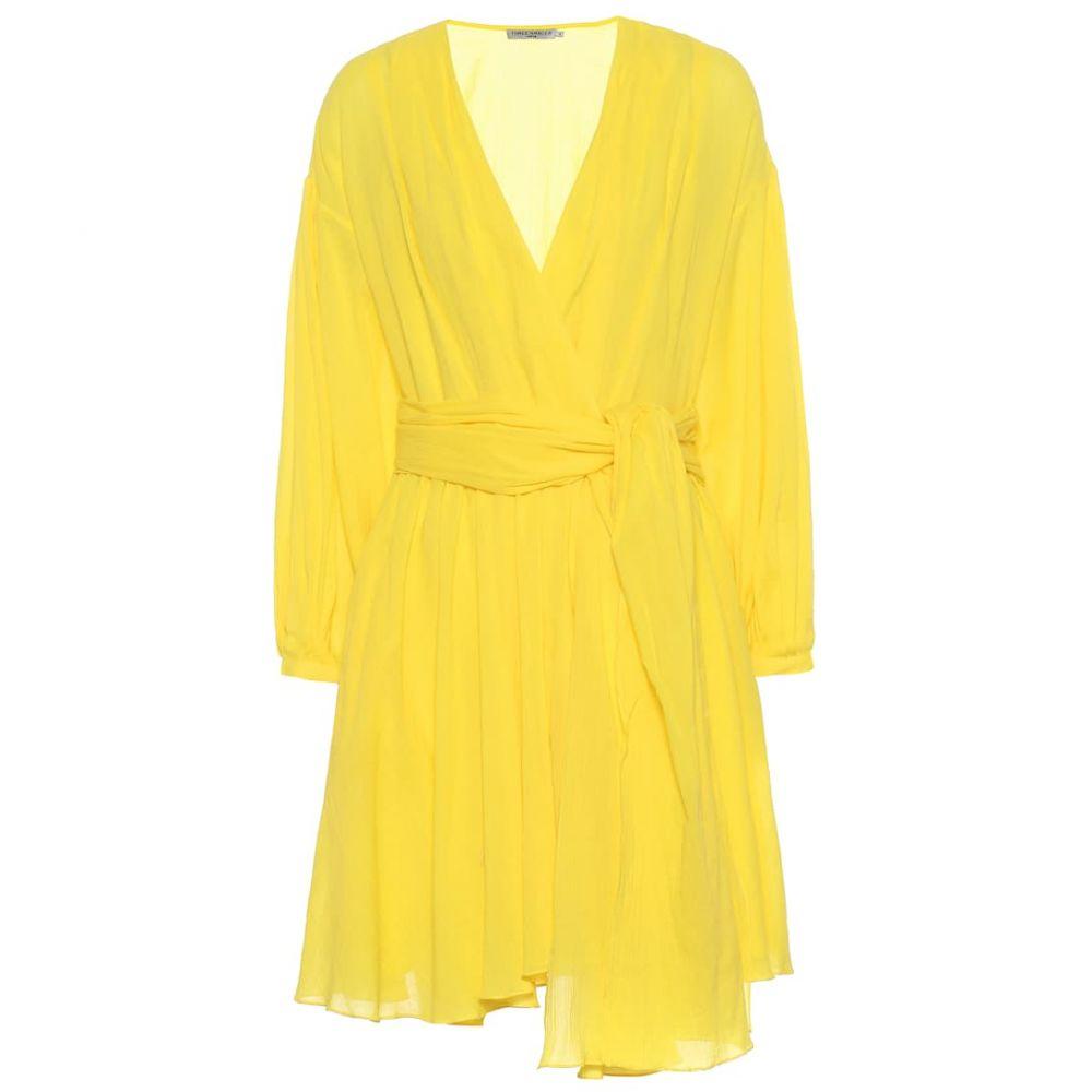 スリーグレイス Three Graces London レディース ワンピース・ドレス ワンピース【Carina cotton wrap dress】Yellow