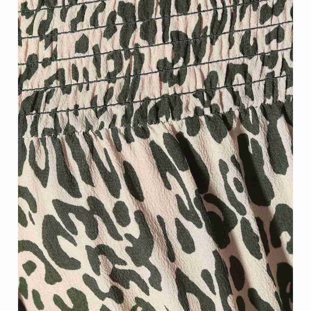 バウム ウンド ヘルガーデン Baum und Pferdgarten レディース ワンピース・ドレス ワンピース【Amalie printed silk-blend maxi dress】Eden Green Leo