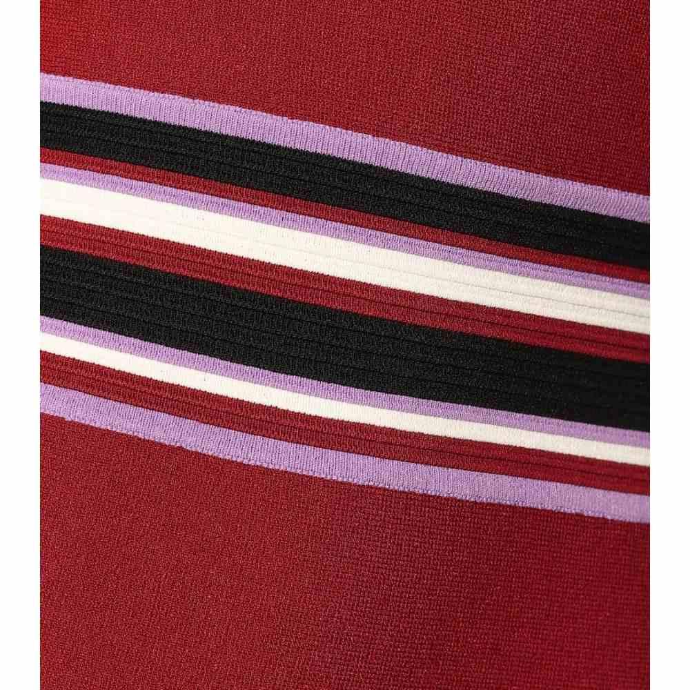 ダイアン フォン ファステンバーグ Diane von Furstenberg レディース ワンピース・ドレス ワンピース【Elsie stretch-knit midi dress】Sangria Multi