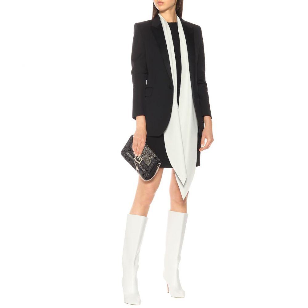 ジバンシー Givenchy レディース ワンピース・ドレス ワンピース【Wool crepe minidress】Black