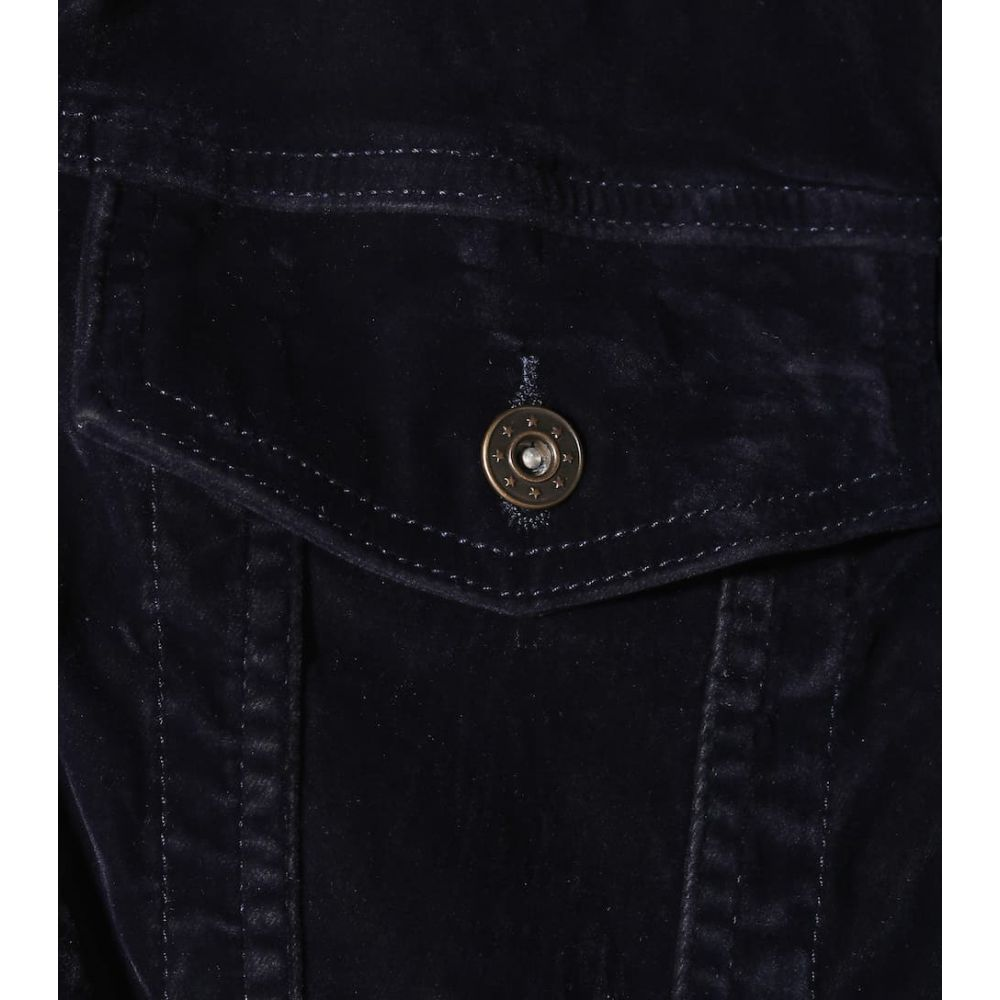 ワイプロジェクト Y/PROJECT レディース アウター ジャケット【Oversized velvet jacket】Navy