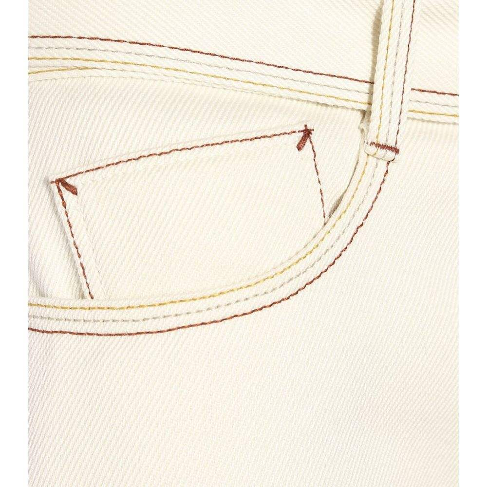 ロロピアーナ Loro Piana レディース ボトムス・パンツ ジーンズ・デニム【High-rise wide-leg cropped jeans】