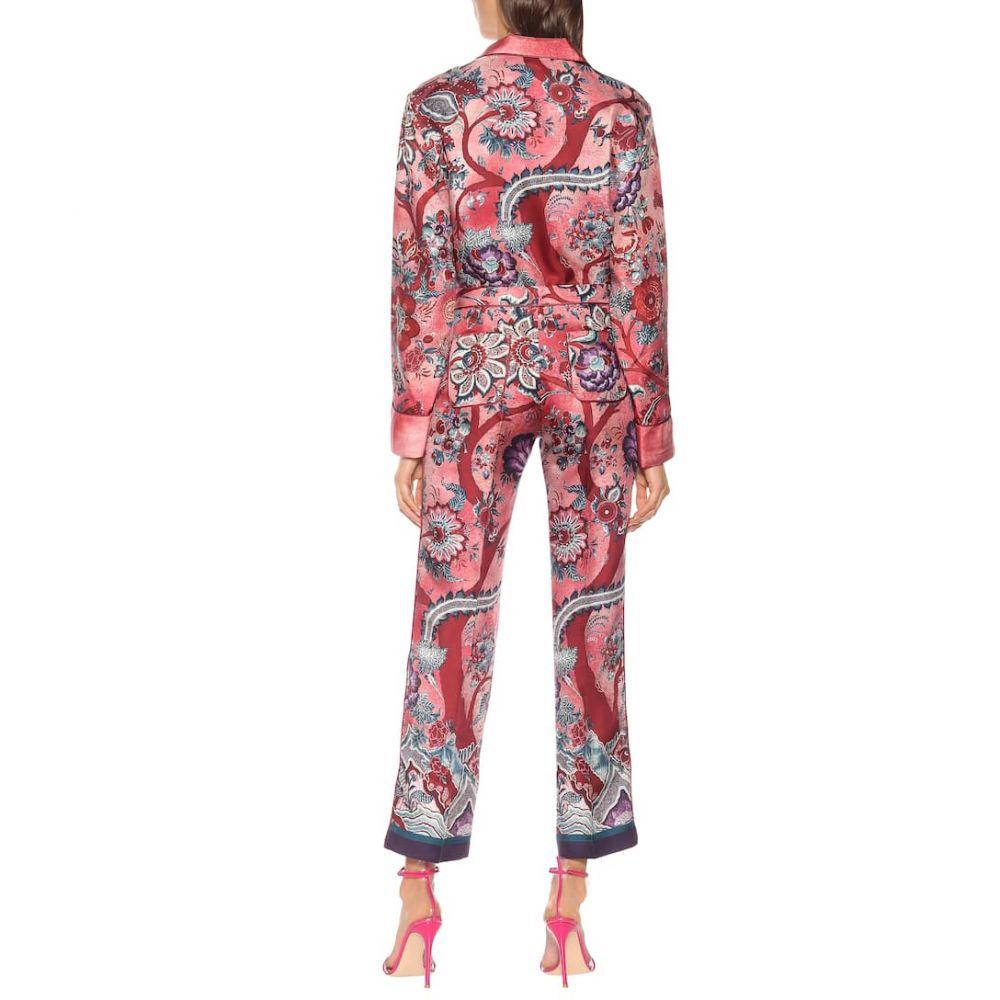 フォーレストレススリーパーズ F.R.S For Restless Sleepers レディース ボトムス・パンツ【Hypnos printed silk wide-leg pants】alvero fdo avorio