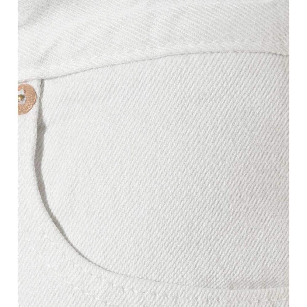 ヴェトモン Vetements レディース ボトムス・パンツ ジーンズ・デニム【x Levi's high-rise jeans】White