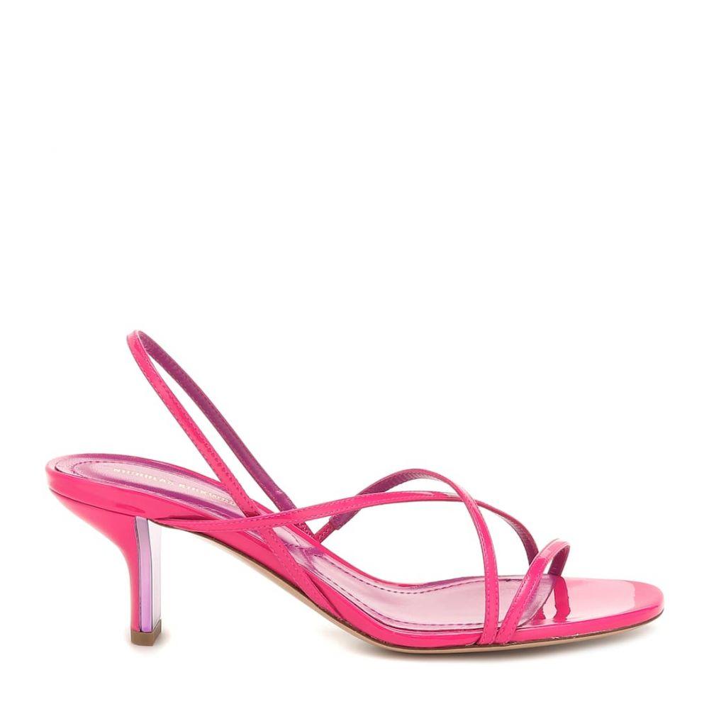 ニコラス カークウッド Nicholas Kirkwood レディース シューズ・靴 サンダル・ミュール【Leeloo patent leather sandals】Azalea