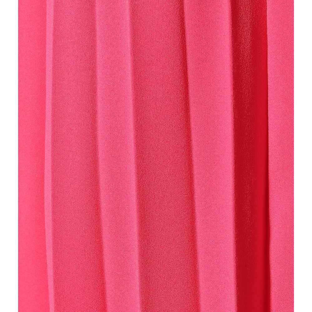 バレンシアガ Balenciaga レディース スカート ひざ丈スカート【Pleated asymmetric midi skirt】Fluo Pink