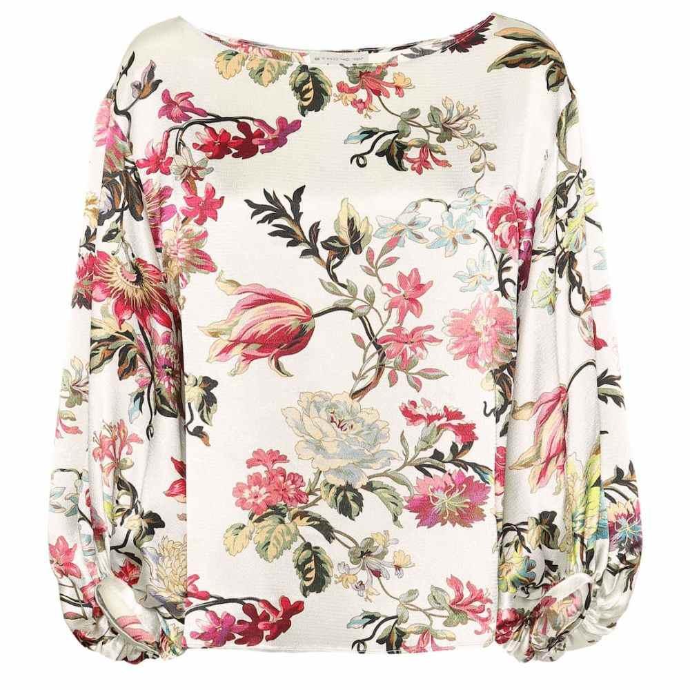 エトロ Etro レディース トップス ブラウス・シャツ【Floral blouse】