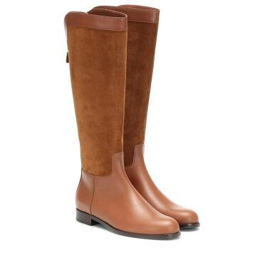 ロロピアーナ Loro Piana レディース ブーツ シューズ・靴【Welly suede and leather boots】