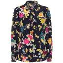 エトロ Etro レディース ブラウス・シャツ トップス【floral stretch-silk shirt】