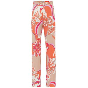 Emilio Pucci女士底裤[花朵绉纱裤] Corallo /米色