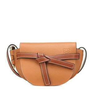 Loewe Loewe Ladies Shoulder Bag [Gate Mini leather crossbody bag] Light Caramel/Pecan Color