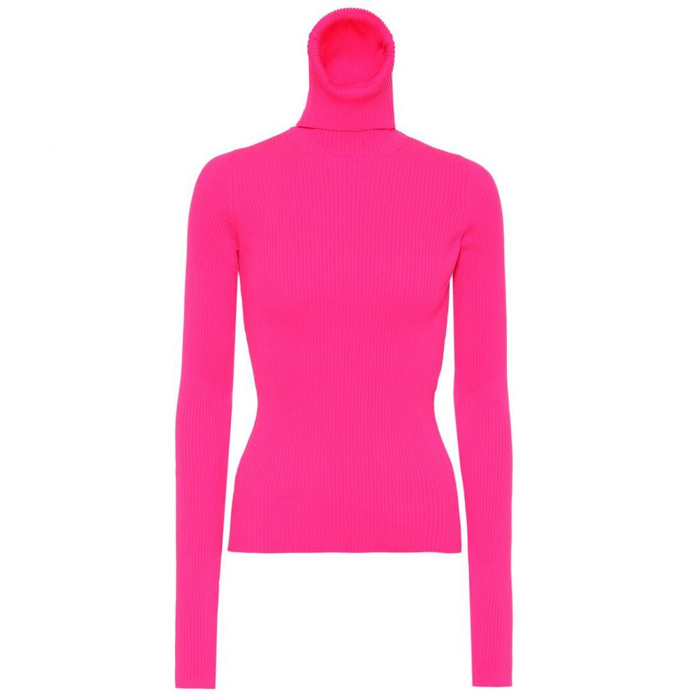 ニット・セーター, その他  Balenciaga Neon turtleneck sweaterfluo fuchsia