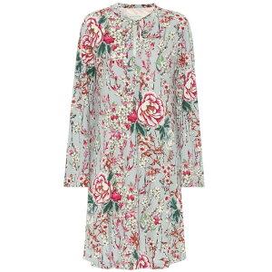 Etro Etro Vestido de una pieza para mujer [Vestido floral de crepé de China]